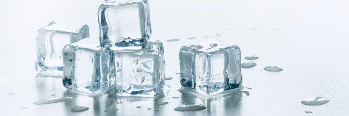 кубики льда со структурированной водой